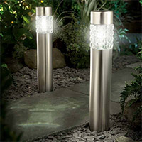 Solar Lighting at Langlands Garden Centre