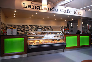 Come for a bite to eat at Langlands!